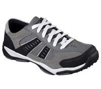 Skechers Larson Sotes Memory Foam Shoe Charcoal / Black Men's Different Sizes