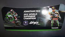 Jonathan Rea 2015 World Superbike Champion Sticker Decal