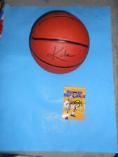autographed kobe bryant lakers ball set