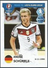 PANINI ROAD TO UEFA EURO 2016- #059-GERMANY-ANDRE SCHURRLE