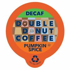 Double Donut Decaf Pumpkin Spice Flavored Coffee Cups For Keurig K Cup 24ct