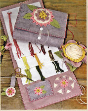 PATTERN - Stitchery Set - pretty sewing accessory PATTERN - Bareroots