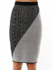 Jonathan simkhai bi-couleur Intarsia Tricot Jupe Petit