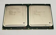 Lot Of 4 INTEL XEON E5-2680 8 CORE 2.70GHz 20M 8GT/s Server CPU