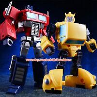 KBB Transformers OP Optimus Prime G1 IDW NA Bumblebee Figure Kids Toys In Stock