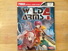 Prima Wild Arms 4 Playstation 2 PS2 Xbox Official Strategy Game Guide