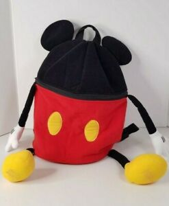 Disneyland Resort Paris Mickey Mouse Shaped Backpack