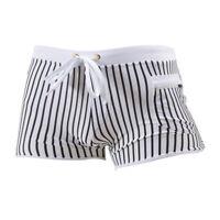 Men Swimwears Swim Beach Shorts Swimming Trunk Boxer Strips Swimsuit Underpants