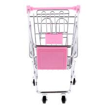 Mini Carro Carrito De Compras De Juguete Color Rosa Talla M