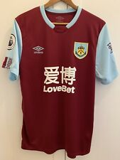 Burnley Signed Home Shirt Jersey 2019 2020 19/20 Squad Barnes 10 Printing
