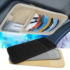 12Slot CD DVD Disc Case Bag Storage Car Vehicle Sun Visor Shade Holder Organizer