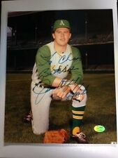 "Jim ""Catfish"" Hunter Signed with Inscription ""To Champions Best Wishes"" SGC Auth"