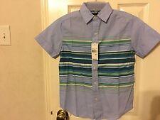 Nautica Boys Cotton Dress short sleeve Dress shirt