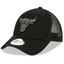 New Era Chicago Bulls Gorra Camionero .9 cuarenta un marco negro Snap Gorra de béisbol C3