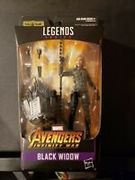 Marvel Legends Infinity War Black Widow w/Cull Obsidian BAF piece