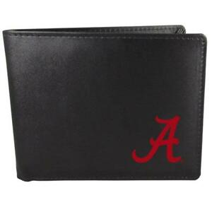 Alabama Crimson Tide Bi-fold Wallet ID Window Black