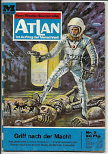 Atlan Nr.2 von 1969 - TOP Z1 Science Fiction MOEWIG ROMANHEFT