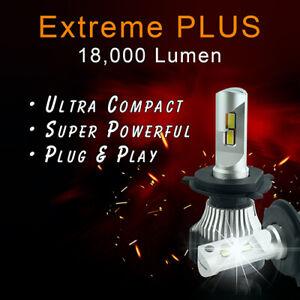 H7 LED Headlight Bulbs   EXTREME PLUS   18,000 Lumen and a 3yr Warranty.