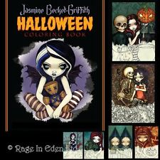 STRANGELING HALLOWEEN COLOURING BOOK Jasmine Becket-Griffith Fantasy Fairy Art