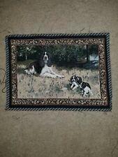 English Cocker Spaniel Tapestry Fabric Panel
