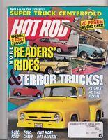 Hot Rod Magazine August 1990 Super Truck Centerfold /  Pavement Melting Pickups!