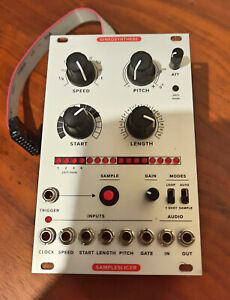 Ginkosynthese - Sampleslicer MkII - Eurorack Module Sampler  Excellent condition