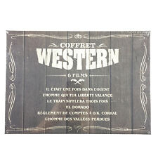 Coffret Western 6 DVD Neuf / El Dorado, L'homme Des Vallées Perdues, John Wayne