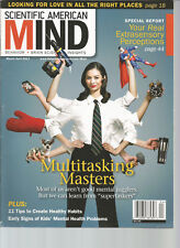 SCIENTIFIC AMERICAN MIND MAGAZINE MARCH/APRIL 2012 MULTITASKING MASTERS