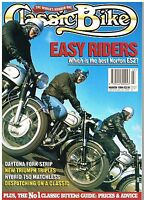 Classic Bike March 1994  Norton ES2 BSA Spitfire Matchless G15 MkII Speed triple