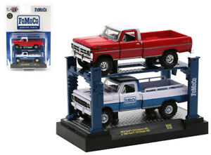 M2 MACHINES AUTO-LIFT FoMoCo 1972 FORD F-250 EXPLORER 1969 F-100 RANGER [PRESALE