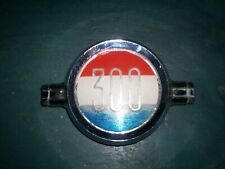 1962 Chrysler 300 H OEM Rear Quarter Emblem  MOPAR