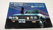 1969 MAZDA 1500 SS  Orig Sales Leaflet  VERY RARE