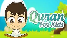 Quran recitation with kids repeating القران الكريم مع ترديد الاطفال للمنشاوى
