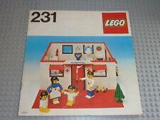 Set 232 231 230 LEGO VINTAGE Homemaker OldBrown Windowsill 679