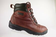 LUCCHESE SPORT Leather Brown Sz 8.5 B Women Waterproof Work Boots