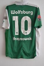 WfL WOLFSBURG HEIM 2007-2008 KRZYNOWEK #10 NIKE FUßBALL TRIKOT T-SHIRT Größe L