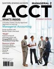 Acct: Managerial ACCT by Steve Jackson, Roby Sawyers and Greg Jenkins
