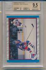 1989-90 O-Pee-Chee New York Rangers Team Card (#310) (Population of 2) BGS9.5