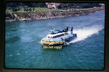 British Hovercraft Corporation Boat in 1967, Original Kodachrome Slide b29b