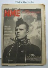 NEW MUSICAL EXPRESS NME - October 2 1982 - The Warriors / Syd Barrett