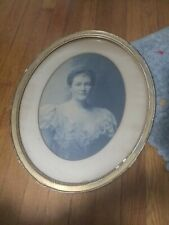 """19 1/2"""" 16"""" ANTIQUE VICTORIAN FRAMED PHOTO WOOD RARE"""