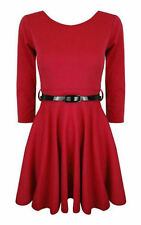Robes rouge courts pour fille de 2 à 16 ans