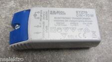 LED Umrüstung NV Trafo elektronischer Transformator 12 V, 0-50W ohne Mindestlast