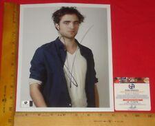"REAL Authentic-Robert Pattinson Signed 8""X10"" Color Photo Global /GA/GAI/GV HTF"