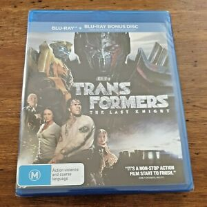 Transformers the Last Knight Blu-Ray BRAND NEW SEALED