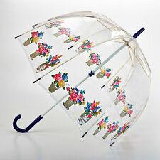 Cath Kidston Birdcage Ombrello a cupola chiara-vasi di fiori