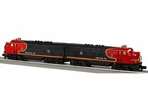 LIONEL 6-38365 SANTA FE BLACK BONNET F3 AA TWIN DIESEL ENGINE SET ~ NEW IN BOX !