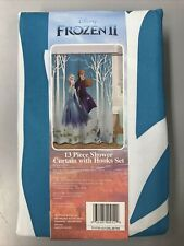 New listing Disney Frozen 2 - 13 piece shower curtain with hooks set New