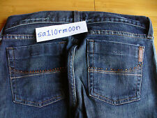 Abercrombie and Fitch AF Boot Cut Jeans Ezra rhinestone 27
