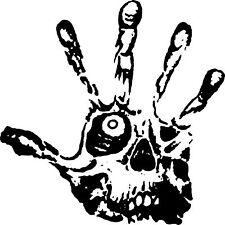 Skull Eye Fingers Zombie Hand Car Truck Window Wall Laptop Vinyl Decal Sticker